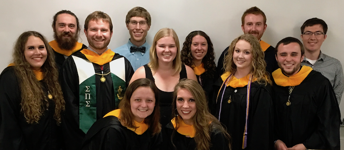 Photo of May and August 2018 grads