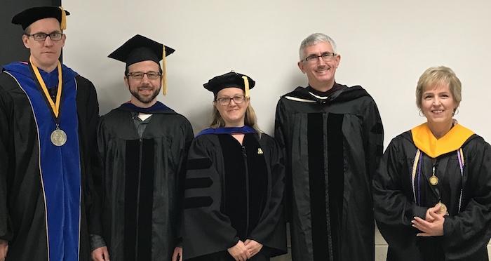 December 2018 Graduates and Mentors