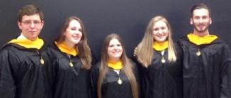 May 2016 Masters of Arts graduates