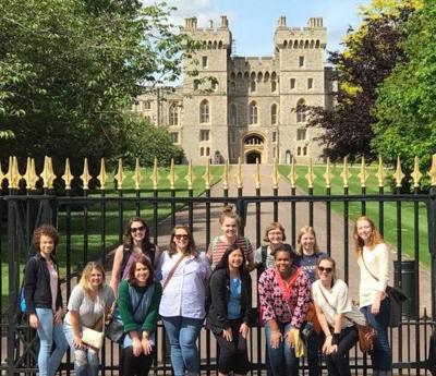 Students tour Windsor Castle